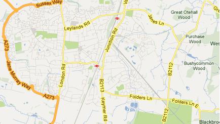 Locations Sussex Locksmiths